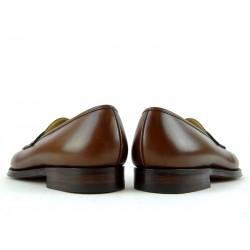 crockett & jones mocassins et slippers Mocassins GranthamC&J GRANTHAM - CUIR - BRACKEN