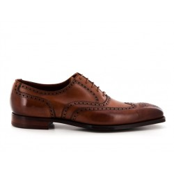 crockett & jones derbies et richelieux Richelieux FairfordC&J FAIRFORD - CUIR - TAN ANTIQU