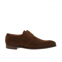 crockett & jones nouveautés derbies et richelieux Derby HighburyC&J HIGHBURY - SUEDE - SNUFF TAB