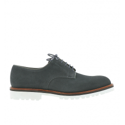crockett & jones nouveautés derbies et richelieux Derby GrasmereC&J GRASMERE 4 - SUEDE - SHARK