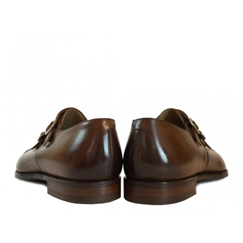 crockett & jones chaussures à boucles Double-boucle Montpellier 2C&J MONTPELIER 2 - CUIR - TAN
