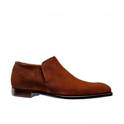 crockett & jones promotions boots et bottillons Bottines basse Kempton 3C&J KEMPTON 3 - CALF SUEDE - POL