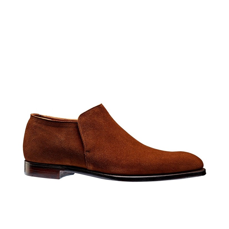 crockett & jones boots et bottillons Bottines basse Kempton 3C&J KEMPTON 3 - CALF SUEDE - POL