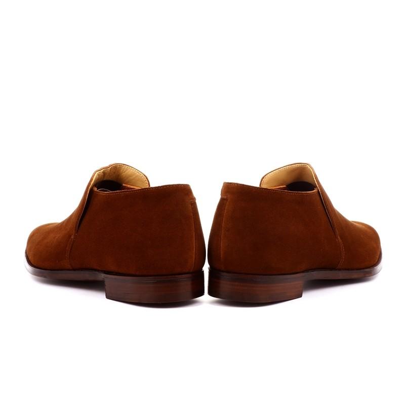 crockett & jones nouveautés boots et bottillons Bottines basse Kempton 3C&J KEMPTON 3 - CALF SUEDE - POL