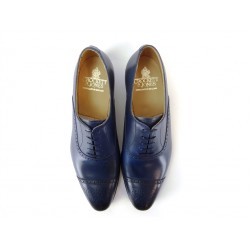 crockett & jones promotions derbies et richelieux Richelieux MaltonC&J MALTON - CUIR - BLEU