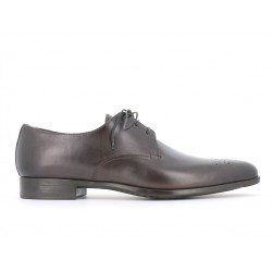 santoni promotions derbies et richelieux Derby MillionMILLIONAIR - CUIR - GRIS