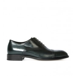 paul smith promotions derbies et richelieux Richelieux SonnetPS RICH SONNET - CUIR - GREEN