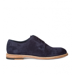 paul smith nouveautés derbies et richelieux Derby GalePS DERBY GALE - NUBUCK - MARINE