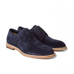 paul smith nouveautés derbies et richelieus Derby GalePS DERBY GALE - NUBUCK - MARINE