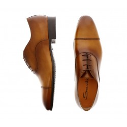santoni derbies et richelieux Richelieux SimonSIMON - CUIR ROYAL CALF - GOLD