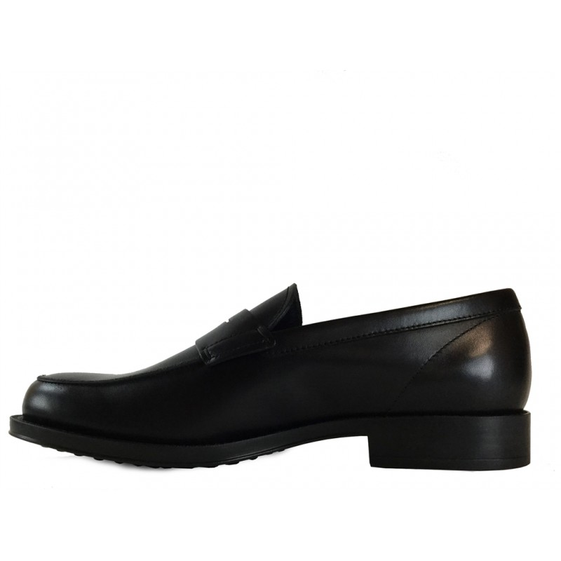 tod's mocassins et slippers Mocassins CollegeCOLLEGE - CUIR - NOIR