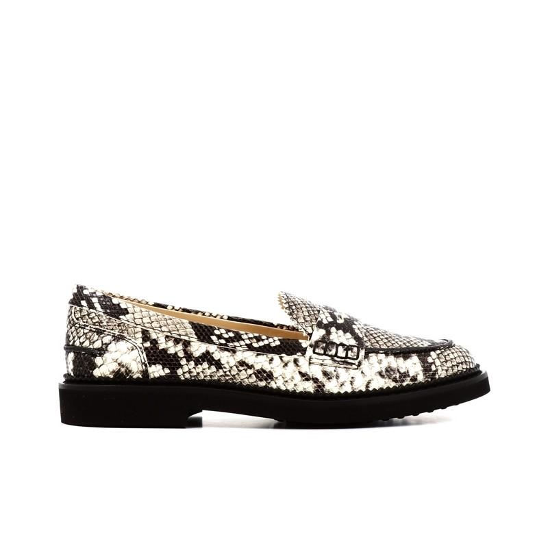 tod's mocassins & slippers MocassinsIVRESS 2 - CUIR IMPRIMÉ PYTHON -