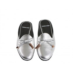 pierre hardy promotions mocassins Mocassins MademoisellePHF MULE MLLE - CUIR - ARGENT