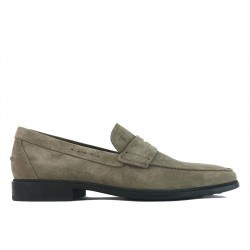 tod's mocassins et slippers MocassinsRIALTO2 - NUBUCK - TAUPE