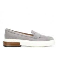 tod's mocassins & slippers MocassinsMOKY - NUBUCK - GRIS