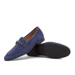 tod's promotions mocassins Mocassins Double TRIALTY - NUBUCK - MARINE