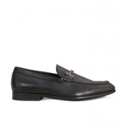 tod's mocassins et slippers Mocassins Double TRIALTO 3T - CUIR - NOIR ET ACCES