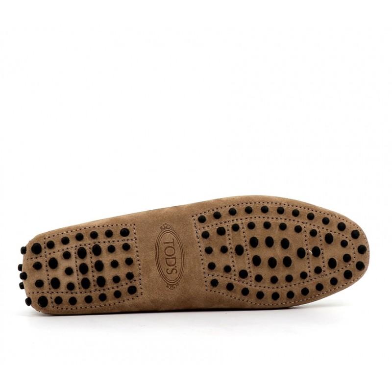 tod's mocassins et slippers Mocassins Gommino à lacetsLASSIE - NUBUCK - TABAC