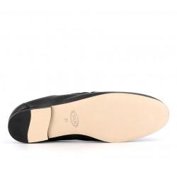 tod's mocassins & slippers Mocassins Double TTODTIE ELAS - CUIR - NOIR