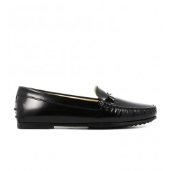 tod's mocassins & slippers Mocassins City GomminoTODTIE SLLE - CUIR GLACÉ - NOIR