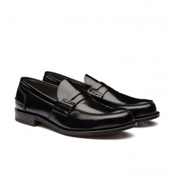 church's nouveautés mocassins Mocassins TunbridgeTUNBRIDGE - CUIR BOOKBINDER FUMÉ