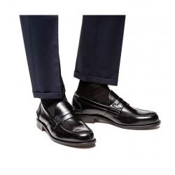 church's mocassins et slippers Mocassins TunbridgeTUNBRIDGE - CUIR BOOKBINDER FUMÉ