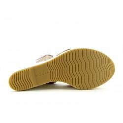 hogan promotions sandales SandalesCARITA - CUIR ET NUBUCK - CORAIL