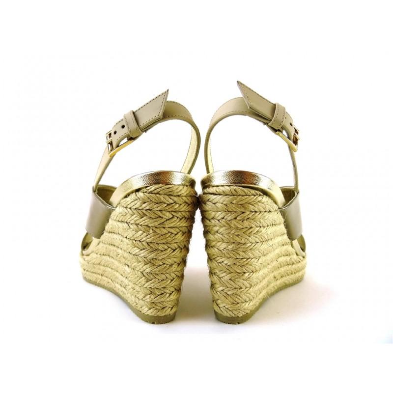 hogan sandales SandalesCAPRA - CUIR ET VERNIS - NUDE ET