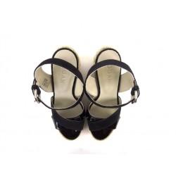 hogan promotions sandales SandalesCANISTA - CUIR VERNI. - NOIR