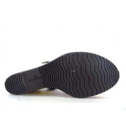 hogan sandales SandalesCANISTA - CUIR VERNI. - NOIR