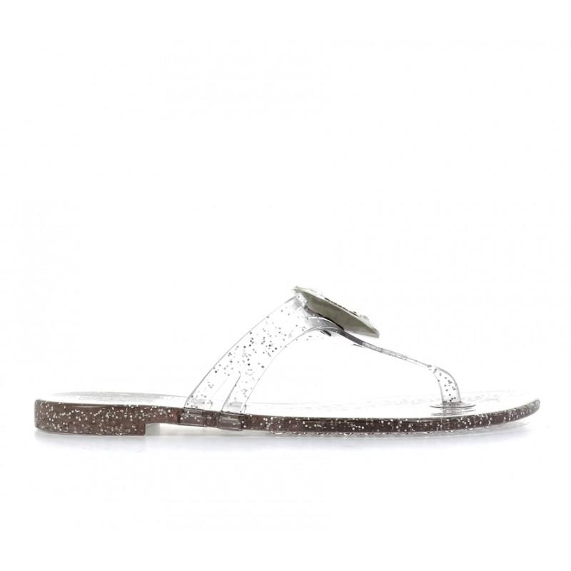 casadei promotions sandales SandalesCASA NP BEACH - PVC - TRANSPAREN