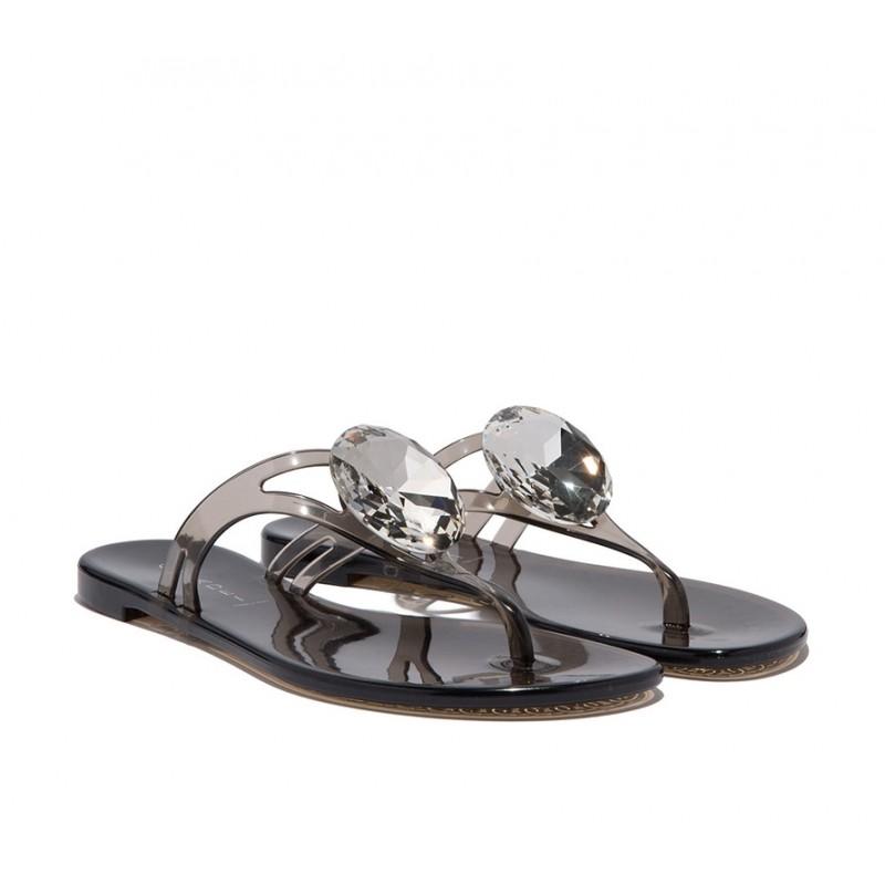 casadei sandales SandalesCASA NP BEACH - PVC - NOIR ET BI
