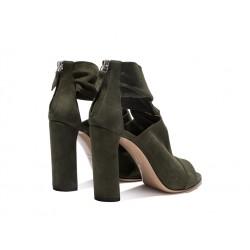 casadei sandales Sandales Peep ToesCASA PEEP STRETCH - NUBUCK STRET