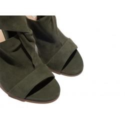casadei promotions sandales Sandales Peep ToesCASA PEEP STRETCH - NUBUCK STRET