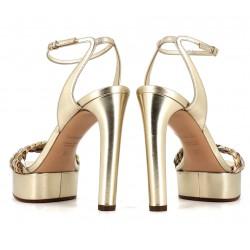 casadei promotions sandales SandalesCASA SAND PAT TRESS - CUIR TRESS