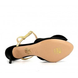 charlotte olympia promotions sandales SandalesCO SAND SATIN T85 - SATIN/CUIR -