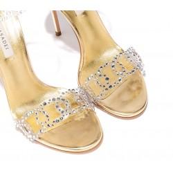 casadei promotions sandales SandalesCASA SAND VINYLE T10 - CUIR, VIN