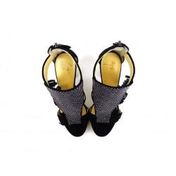 giuseppe zanotti promotions sandales Sandales à talon 90 mmGZ F SAND FRANGE T9 - NUBUCK - N