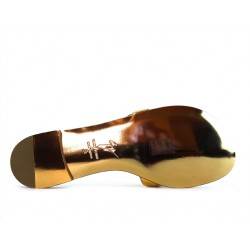 giuseppe zanotti promotions sandales SandalesGZ F NU-PIED FEUILLE - VERNIS -