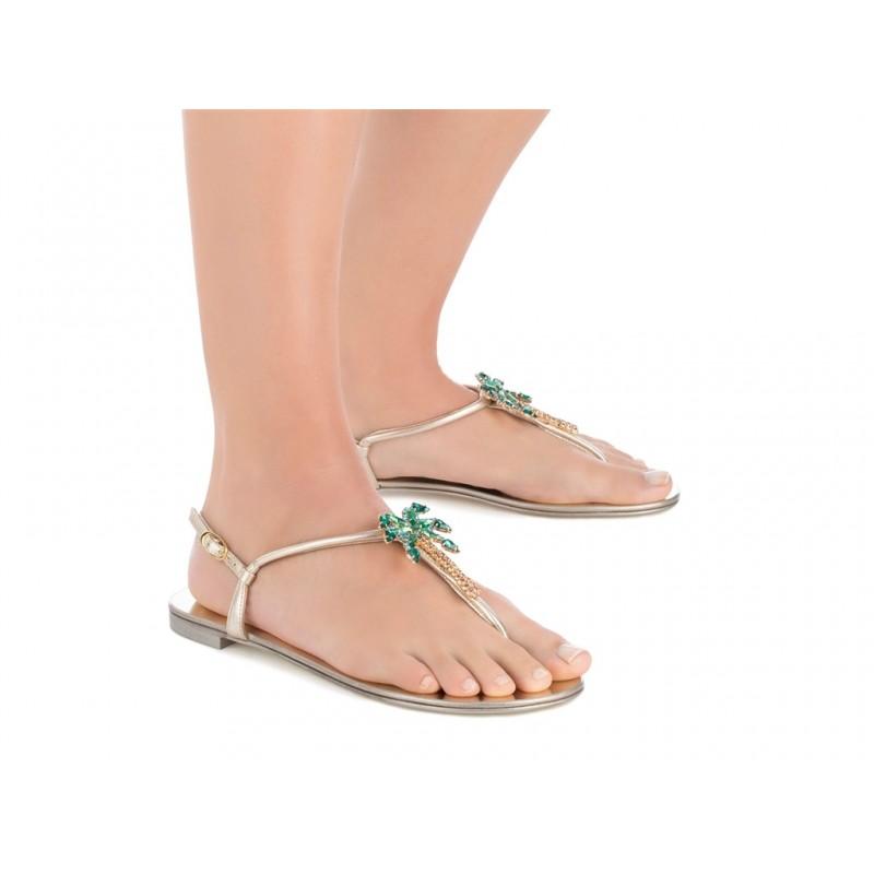giuseppe zanotti sandales SandalesGZ F NUPIED BIJOUX - CUIR ET BIJ