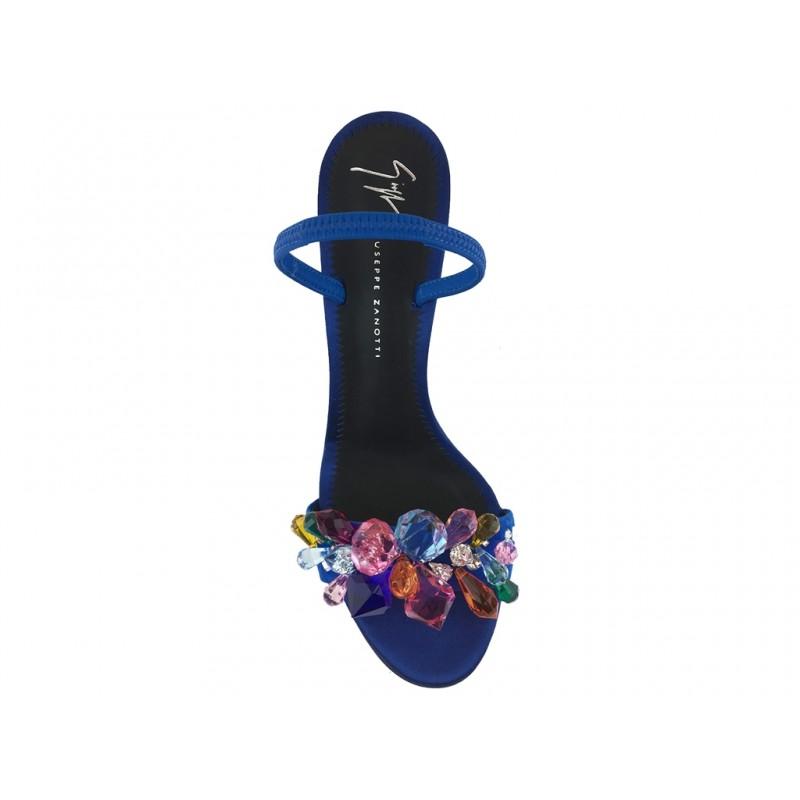 giuseppe zanotti sandales Sandales à talon 90 mmGZ F SAND BIJOUX T9 - SATIN ET B