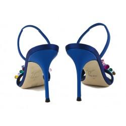 giuseppe zanotti promotions sandales Sandales à talon 90 mmGZ F SAND BIJOUX T9 - SATIN ET B