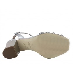 giuseppe zanotti promotions sandales SandalesGZ F SAND NOEUD T8 - CUIR - ARGE