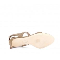 giuseppe zanotti sandales Sandales à talon 50 mmGZ F SAND BANDES T5 - NUBUCK - T