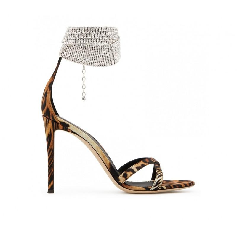 giuseppe zanotti sandales Sandales BraceletsGZ F SAND BRACELET10 - SATIN ET
