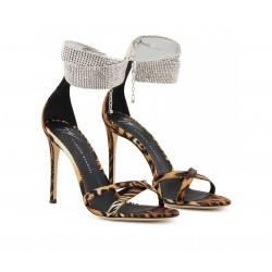 giuseppe zanotti promotions sandales Sandales à talon 100 mmGZ F SAND BRACELET10 - SATIN ET
