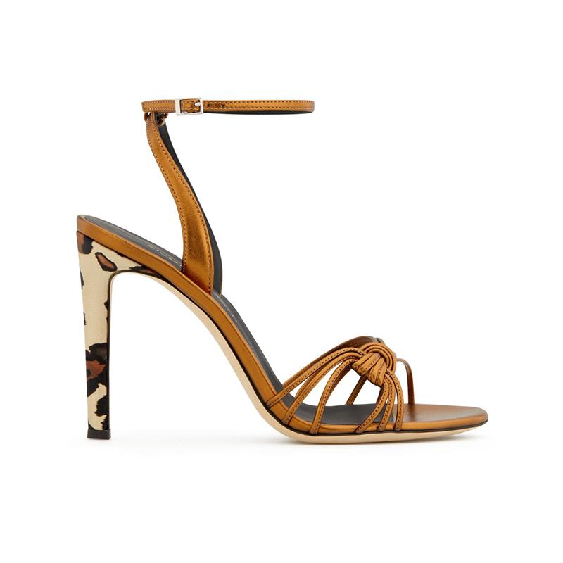 giuseppe zanotti nouveautés sandales Sandales YleniaGZ F SANDALE BRIDE11 - CUIR IRIS