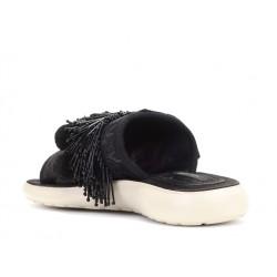 marc jacobs sandales SandalesJAC NU-PIED POMPON - SATIN ET BI