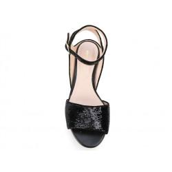 nicholas kirkwood promotions sandales Sandales LolaK LOLA PEARL SANDAL - CUIR IRISÉ