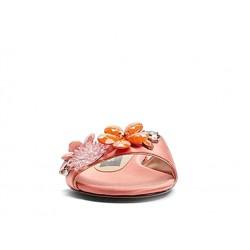 marc jacobs promotions sandales SandalesJAC MULE CLARA - SATIN ET BIJOUX